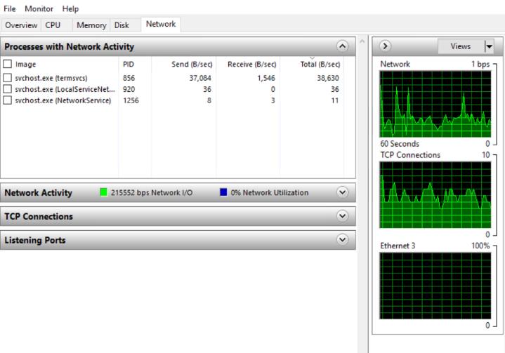 NETWORK-monitor-using-resource-monitor-windows