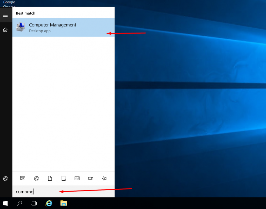 How to change administrator password in Windows using compmgmt.msc