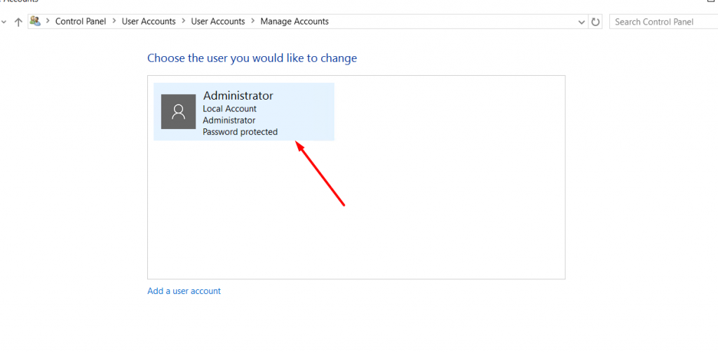 click-on-administrator-for-change-windows-password-using-control-panel