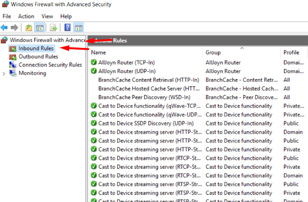 Allow Incoming Connections Of Program From Windows VPS / Server Firewall