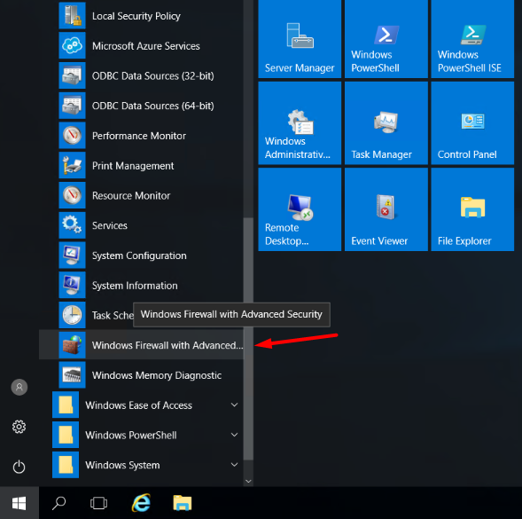 open-windows-firewall-and-advanced-firewall