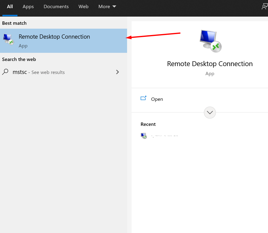 how to connect to windows vps using rdp