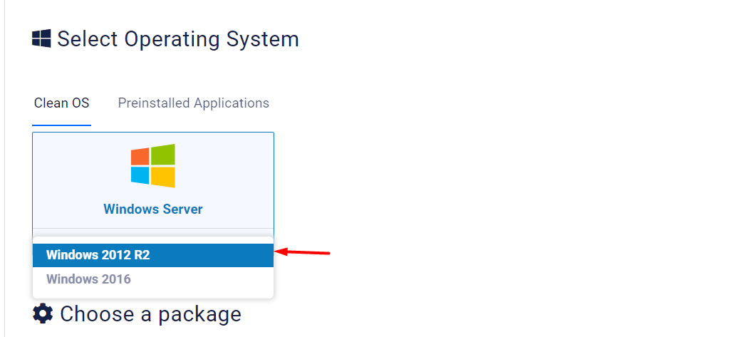 select-operating-system-place-order