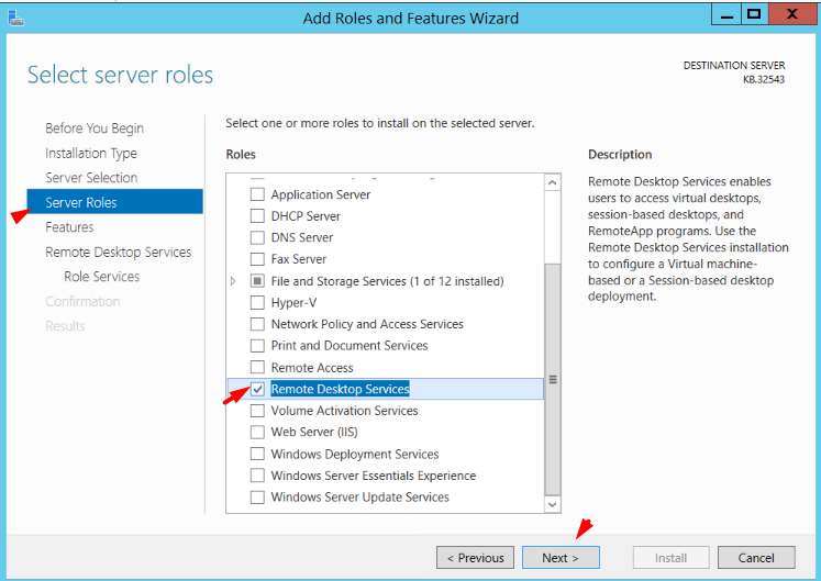 select-remote-desktop-services-from-server-role