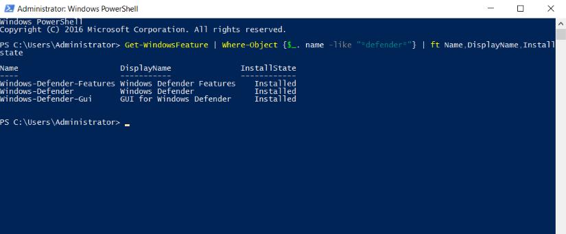 GUI-enabled-installed-status-of-windows-defender