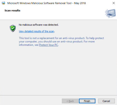 Step-5-finish-how-to-use-malcious-software-removal-in-windows