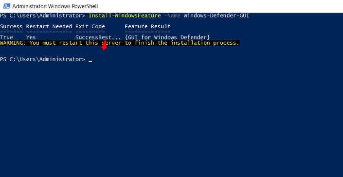 install-windows-defender-gui-using-powershell