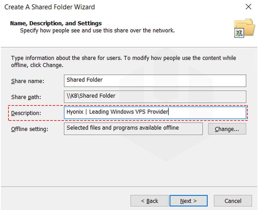enter-description-for-the-shared-folder